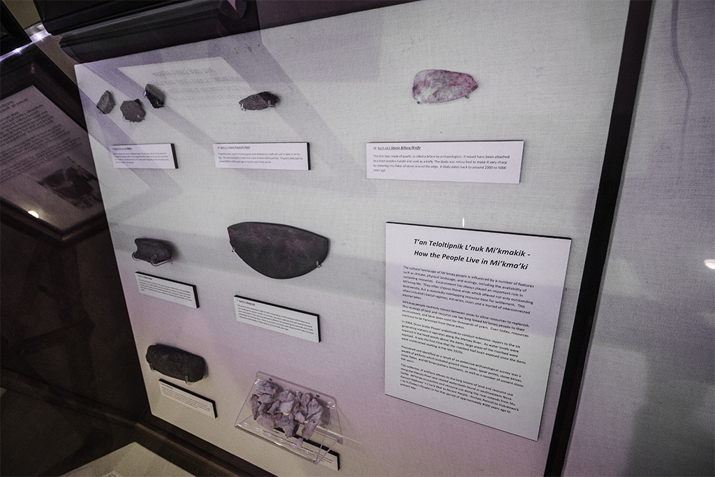 Mi'kmaq Stone Artifacts