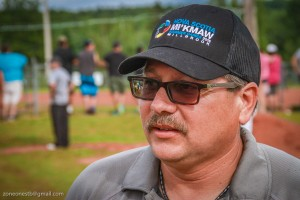 """Millbrook First Nation Chief Bob Gloade described the crowds at the summer games as """"in the thousands.""""/Photo by Stephen Brake"""