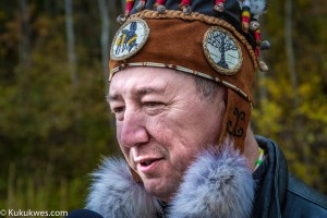 Paul (PJ) Prosper was re-elected chief of Paqtnkek Mi'kmaw Nation, N.S. Nov. 19/Photo by Stephen Brake