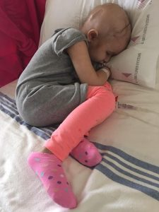 Elizabeth Paul documents Zamirra's battle with cancer through photos because she wants to raise awareness about brain tumours and childhood cancer/Photo contributed by Elizabeth Paul