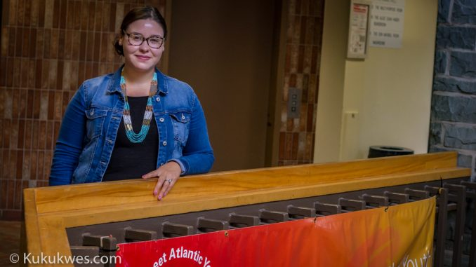 Jasmine Labillois is one of two co-chairs of Mi'kmaq Maliseet Atlantic Youth Council/Photo by Stephen Brake