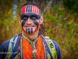 Brad Firth, also known as Caribou Legs, is running across Canada to honour missing and murdered Indigenous women/Photo by Stephen Brake