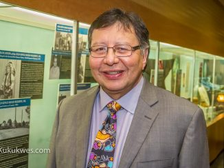 Dan Christmas, 60, from Membertou First Nation, N.S. was appointed as a non-partisan senator Oct. 27/Photo by Stephen Brake