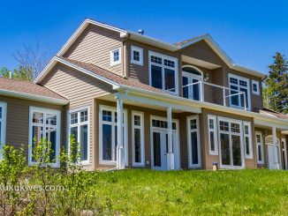 Former Sipekne'katik Band Finance Director Jeffrey Hayes used $133,000 of band funds to build a luxury home at  22 Kittiwake Ridge, Halibut Bay, N.S./Photo by Stephen Brake