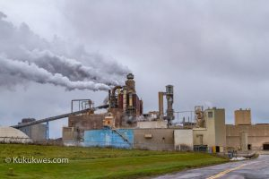 Northern Pulp Nova Scotia Corporation in Abercrombie, N.S./Photo by Stephen Brake