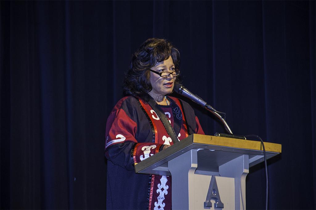 Acadia First Nation Chief Deborah Robinson