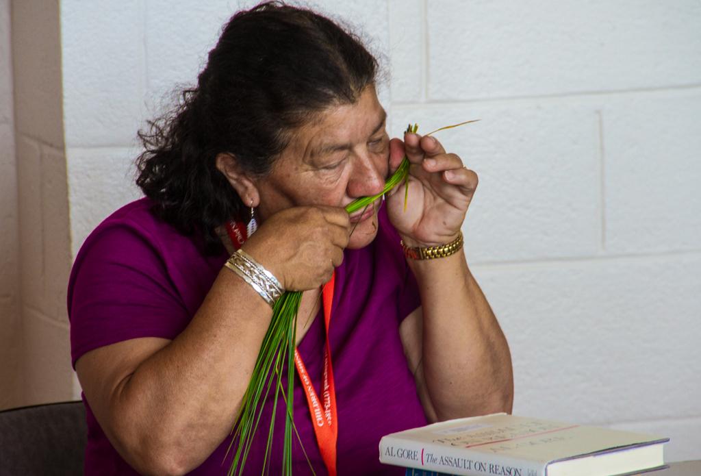 Workshop facilitator Judy Googoo