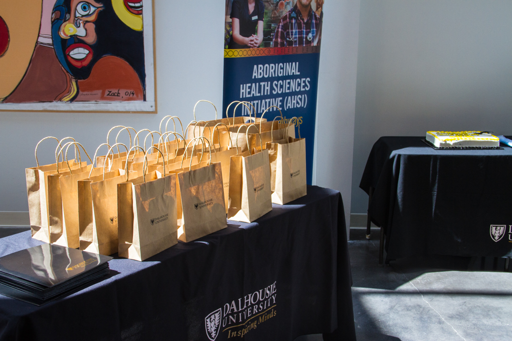 Gift packages for participants